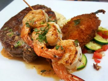 Rusty's Surf & Turf Restaurant on Hatteras Island, Eastern North Carolina Surf & Turf