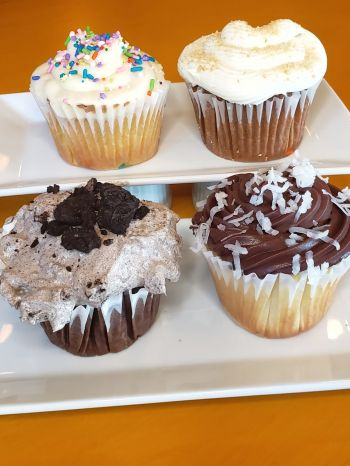 Rusty's Surf & Turf Restaurant on Hatteras Island, Fresh Baked Cupcakes