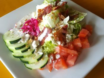 Rusty's Surf & Turf Restaurant on Hatteras Island, Wedge Salad